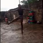 Nigerian ballet dancer