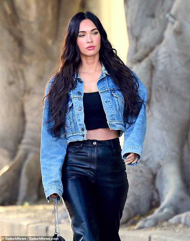 Megan Fox turn heads in West Hollywood