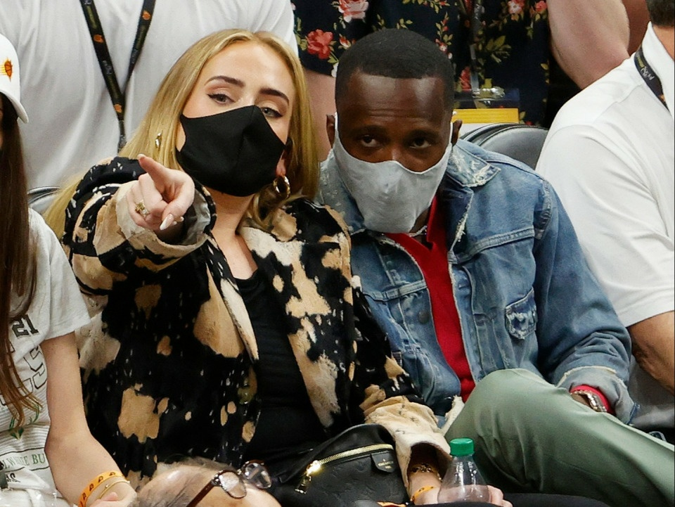 Adele and her Rich Paul