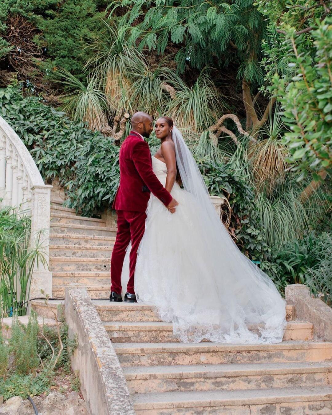 Issa Rae stuns on her wedding day